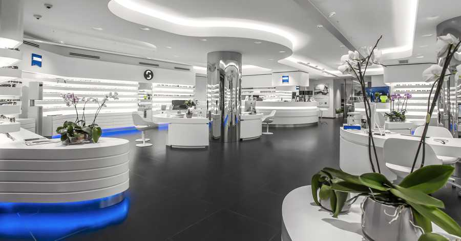 TemaLiving Arredamento e illuminazione Ottica Zeiss Vision Store Spoto