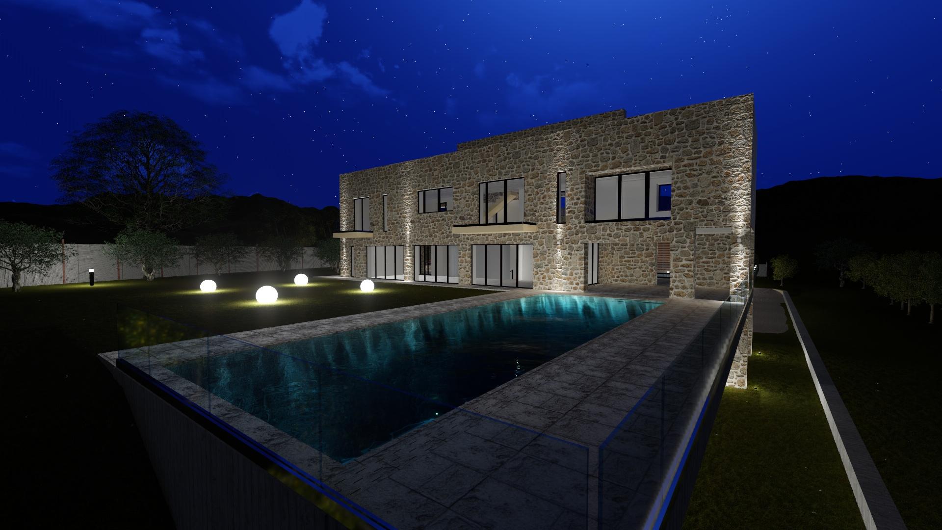 TemaLiving Arredamento e illuminazione Progetto Illuminotecnico 3D Toscana