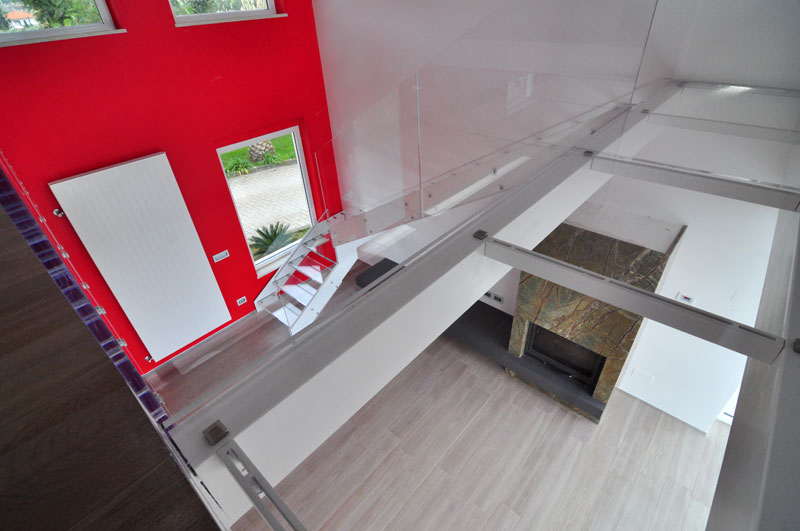 TemaLiving Arredamento e illuminazione Scala in acciaio e plexiglass Davoli